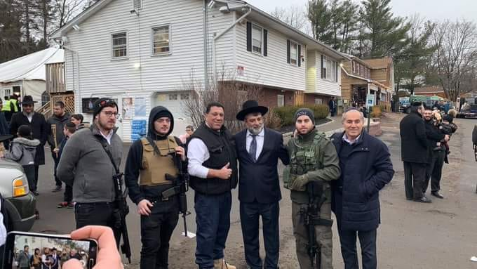 In wake of machete attack AMI Global Security provides long guns to local shul