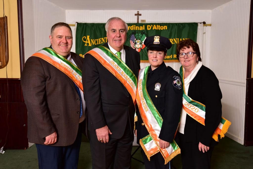 Suffern Police Sergeant Deirdre Smith-Withers Named 2020 Rockland County Saint Patrick's Day Parade Commander