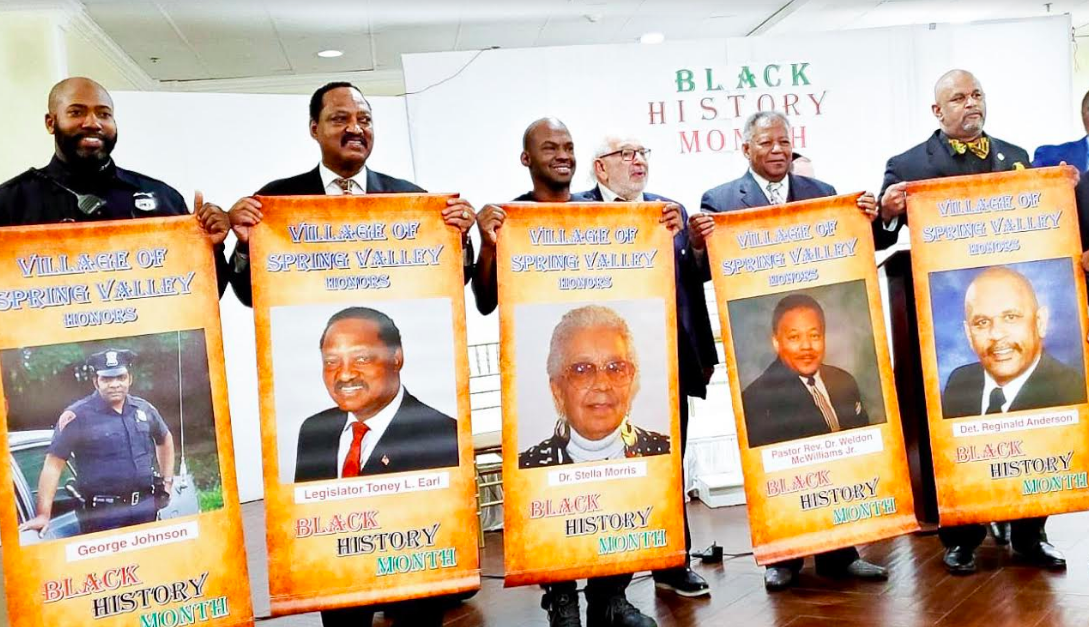 Legislator Earl Among Honorees As Spring Valley Village Commemorates Black History Month