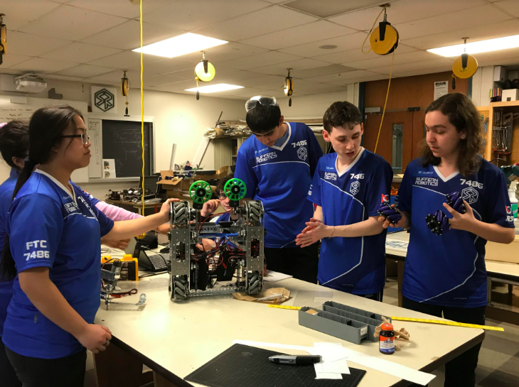 ROBOTICS TEAM THINKS ITS WAY TO VICTORY, HELPED BY $5,000 O&R GRANT; SUFFERN HS 'SPORT OF THE MIND' PLAYERS VERSED IN SCIENCE, PERSUASION