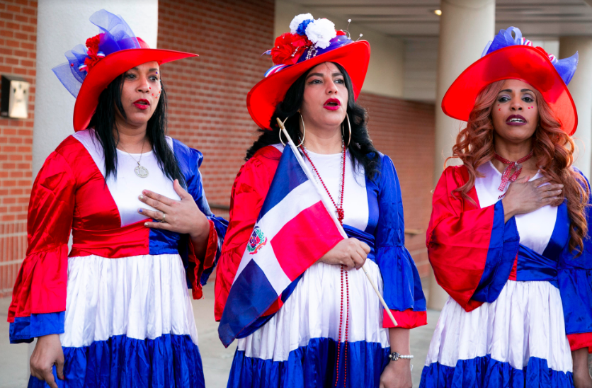 Dominicans celebrate independence day, in Spring Valley