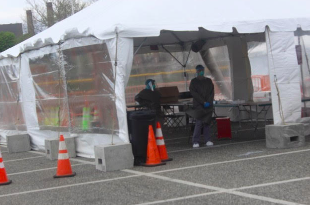 COVID-19 testing center set up in Village of Haverstraw