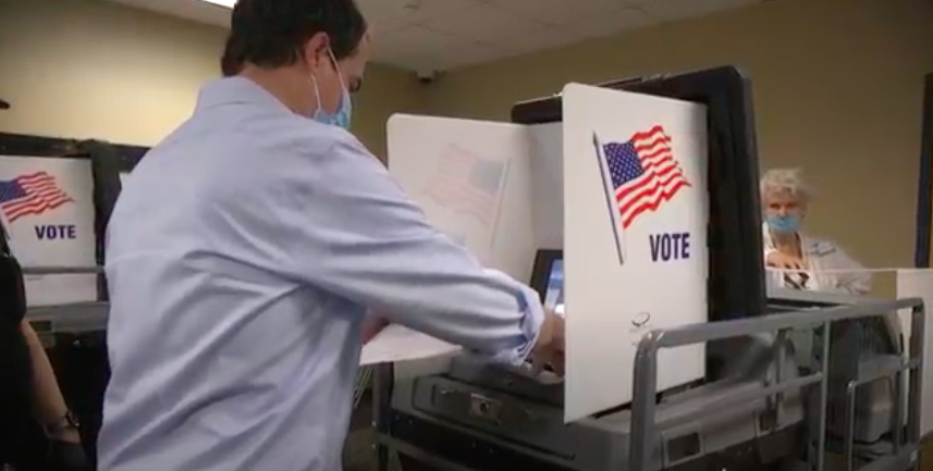 Congressional Candidate David CarlucciVotes Early & Reminds Voters of Important Deadlines
