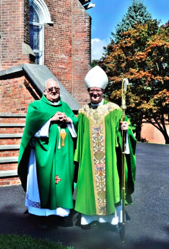 Most Reverend Gerardo celebrated mass in Hudson Valley region