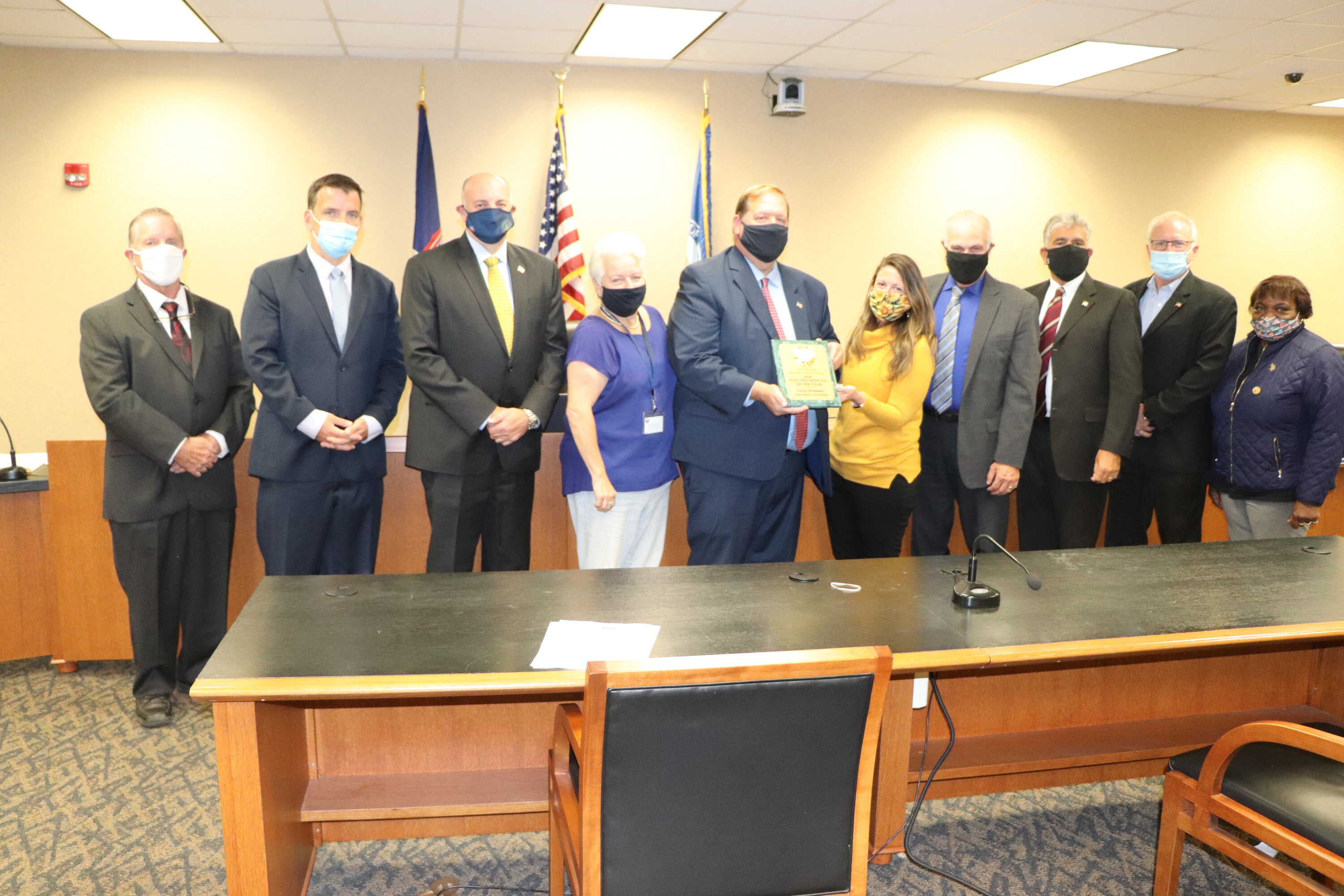 Rewarding Recreation: Clarkstown's Supervisor Honored by State Government
