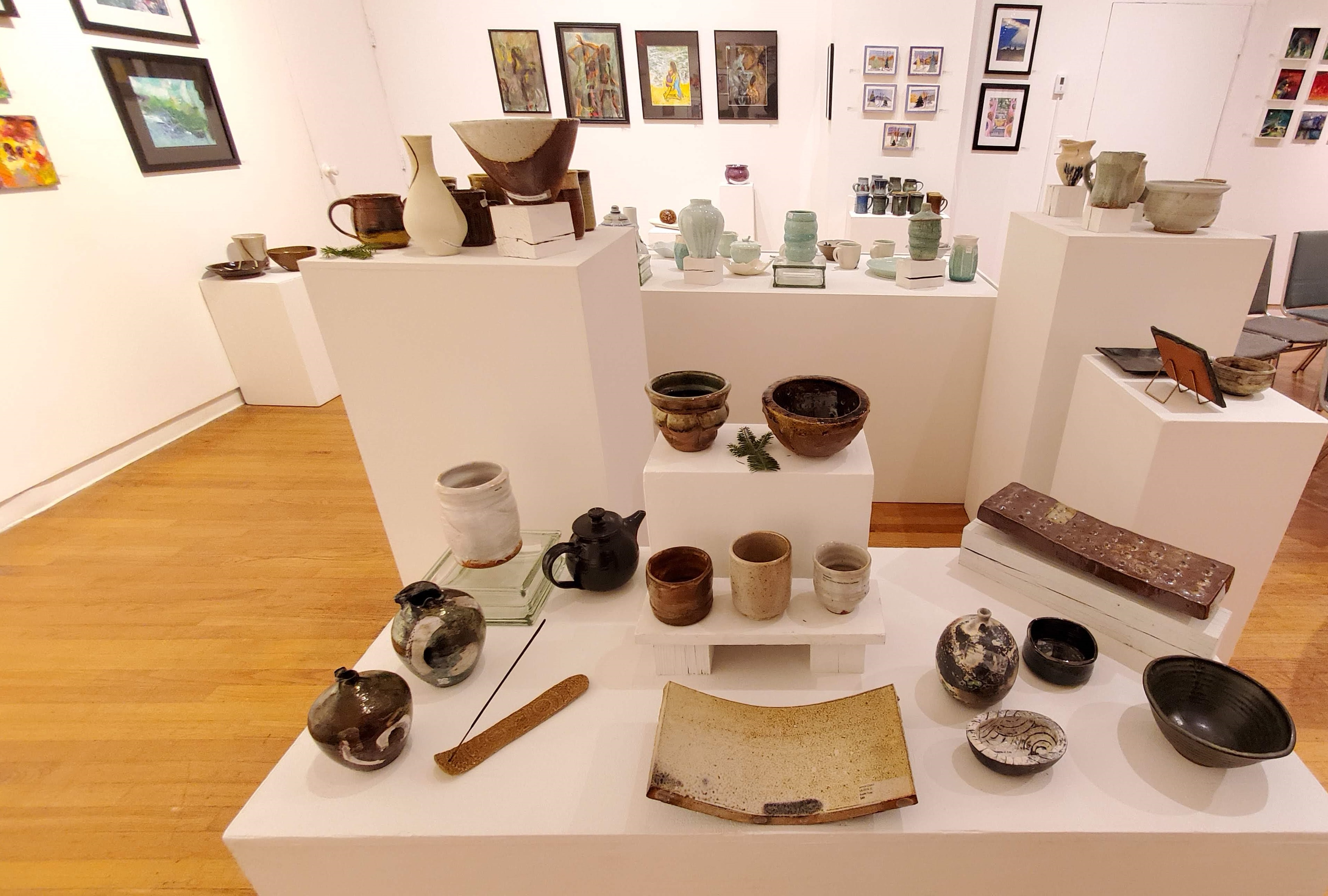 Rockland Center for the Arts Hosts Pottery Bazaar Through December