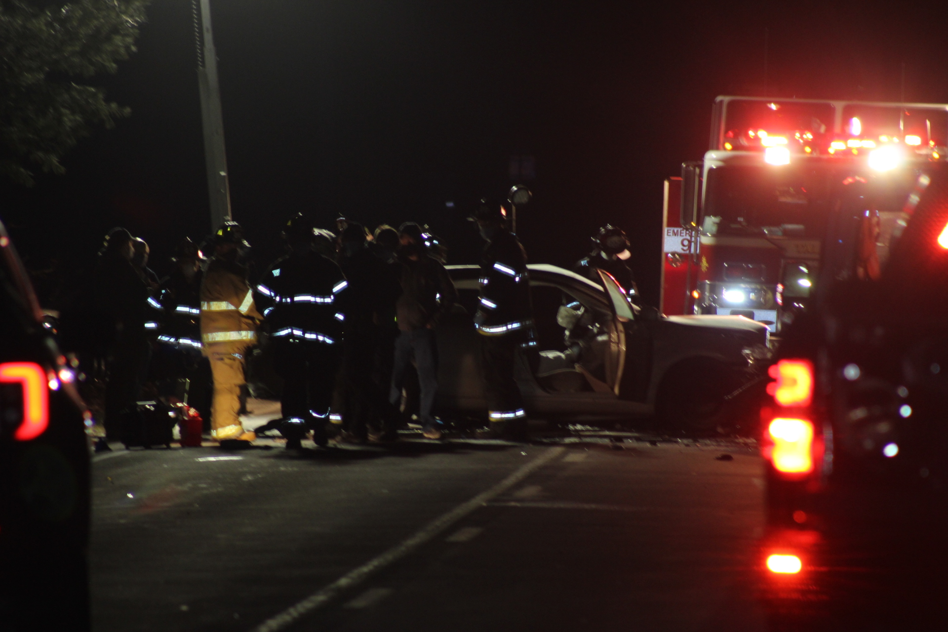 One Dead in Head on Collision on Route 202 in Ramapo