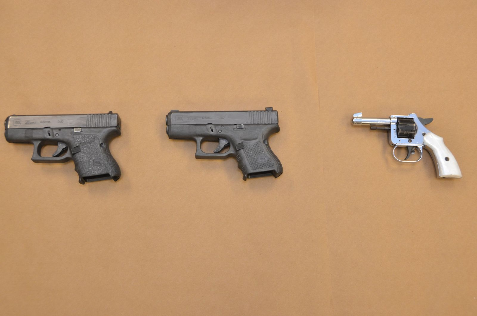 Loaded and Locked Up: Three Local Teens Arrested for Possession of Firearms