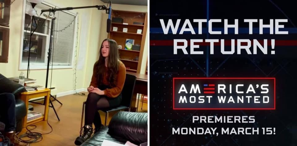 "RCT Digital Editor Jennifer Korn to Appear in ""America's Most Wanted"" Premiere: Stony Point Fugitive Eugene Palmer to be Featured"