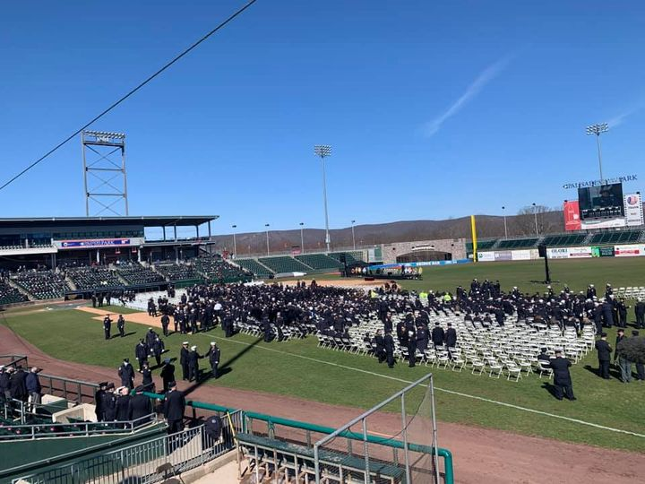 Rockland Hero Laid To Rest: Spring Valley Firefighter Jared Lloyd Memorialized at Boulder Stadium