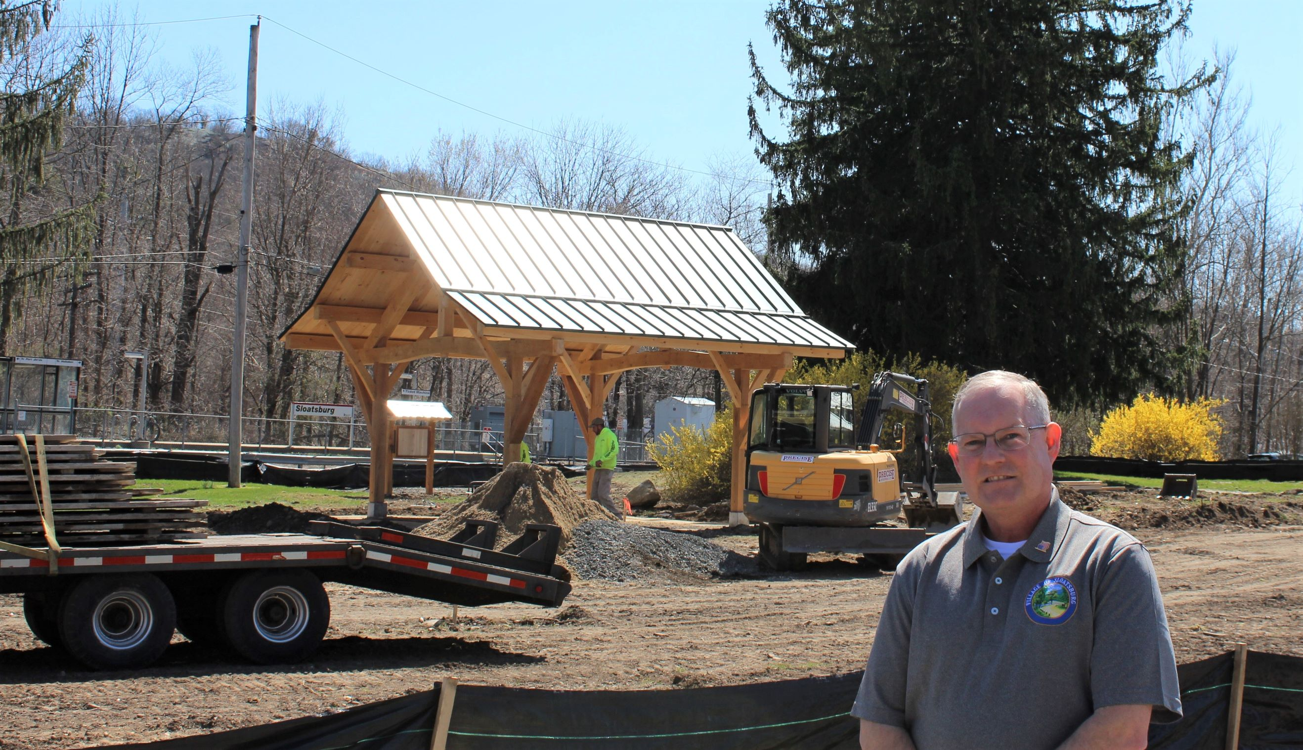 "Built Right, Parking Lot Becomes a Paradise:  Sloatsburg's Vision for a ""Park with Parking"" is Currently Under Construction"