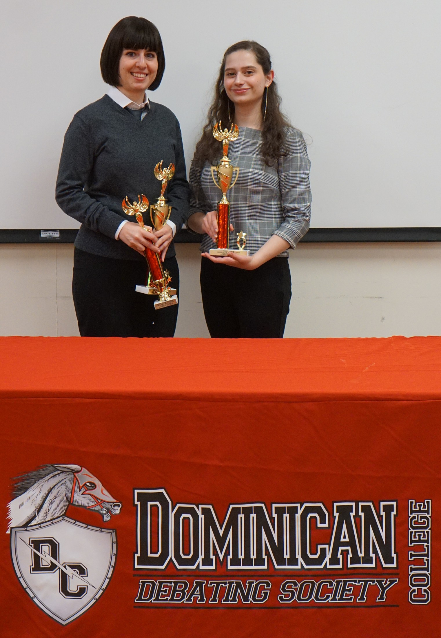Two RCC Students Take Home Top Prize at First Online Debate in  Rockland Community College History