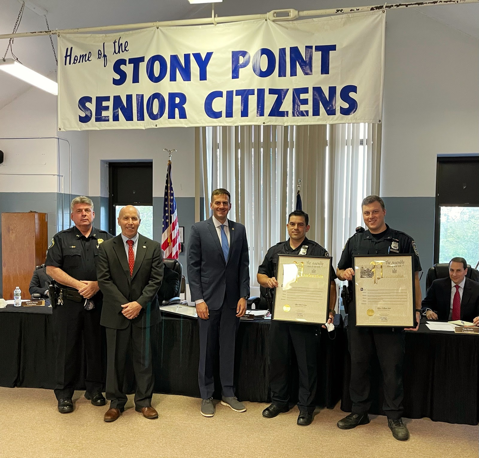 STONY POINT POLICE OFFICERS HONORED DURING NATIONAL POLICE WEEK