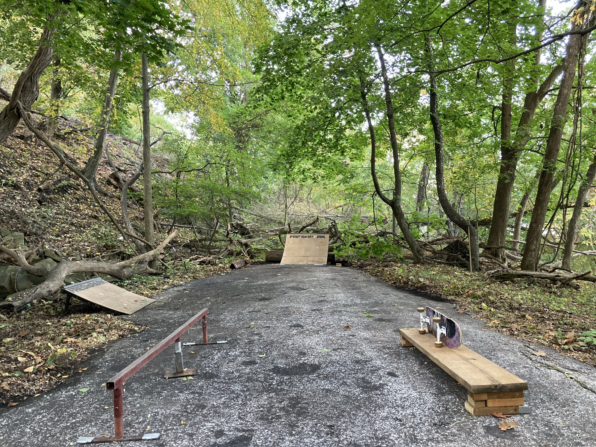 Off the Rails: Rockland Skaters Build a Park Off the Beaten Path