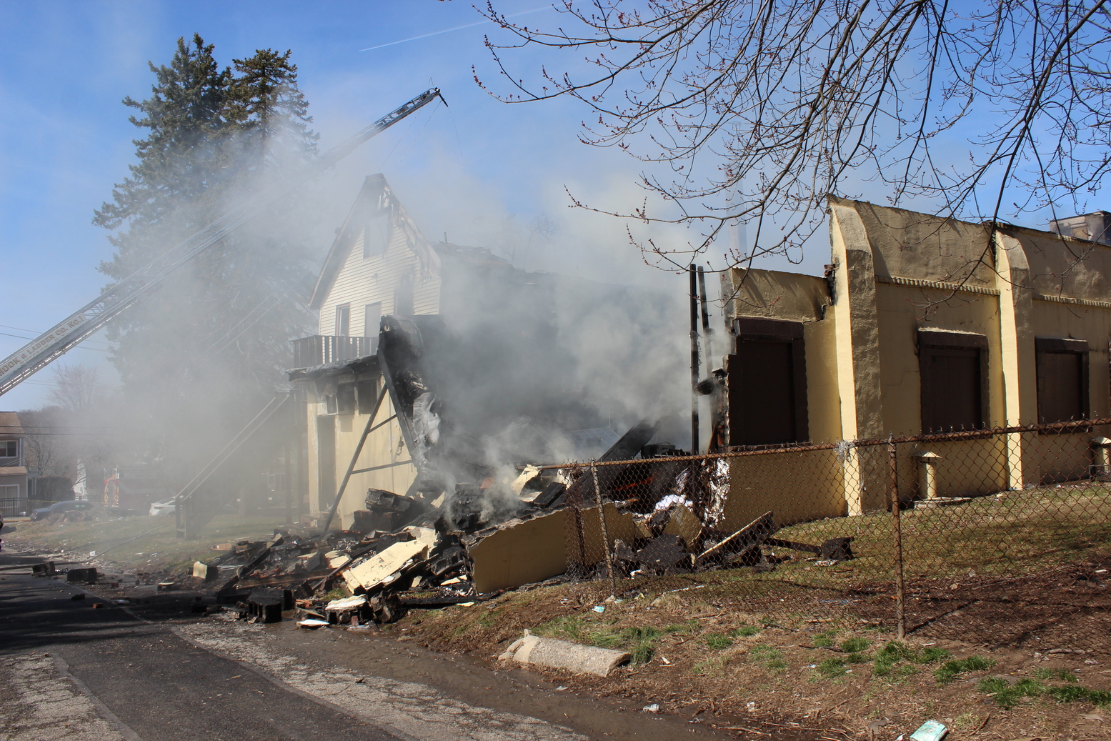 Four Suspects Plead Not Guilty in Evergreen Fire Case