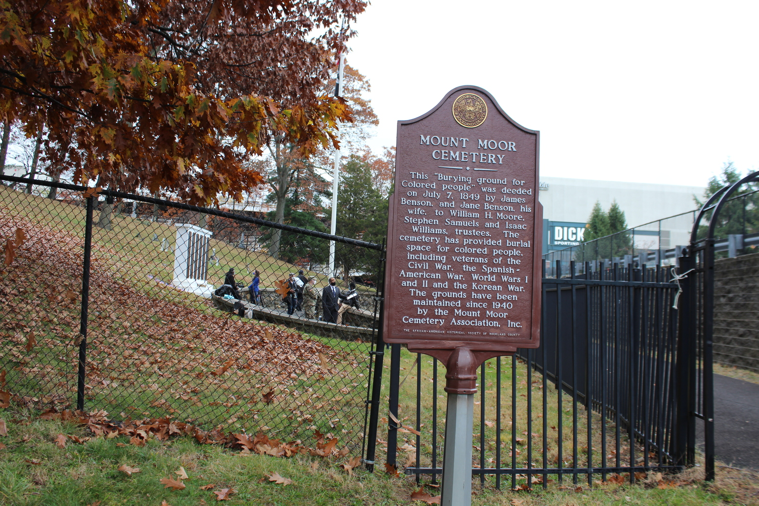 Historic Cemetery Being Restored