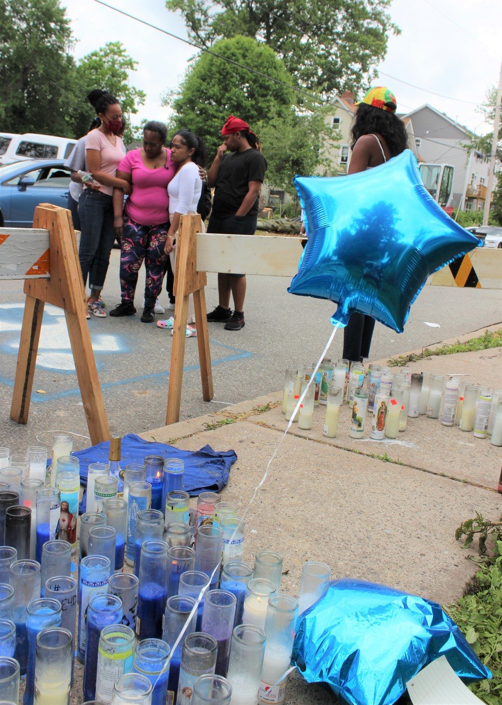 A Family Mourns in Spring Valley