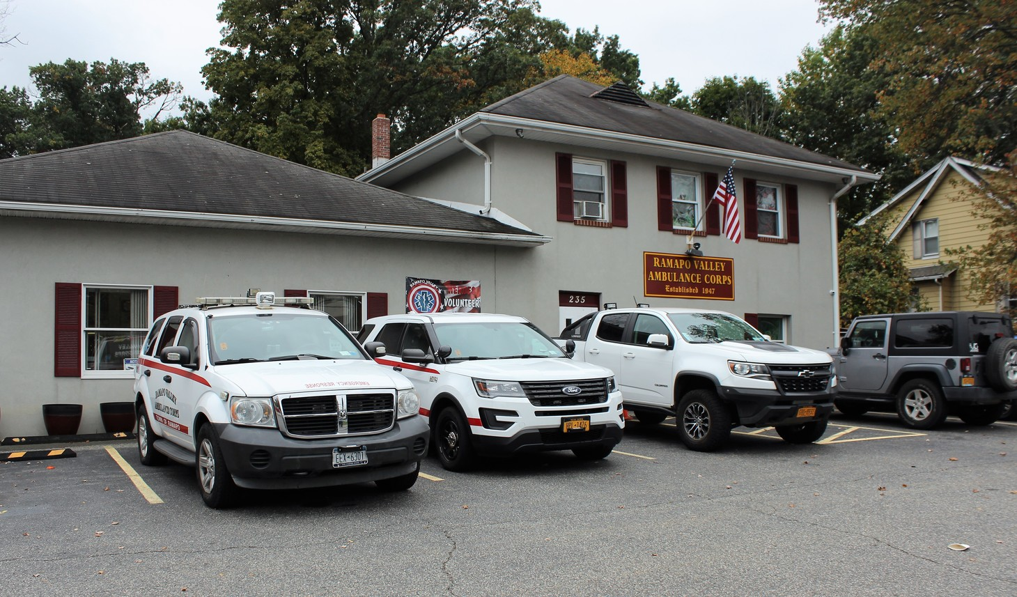 Ramapo Valley Ambulance Corps Warned to Keep Silent on Overdue Funds